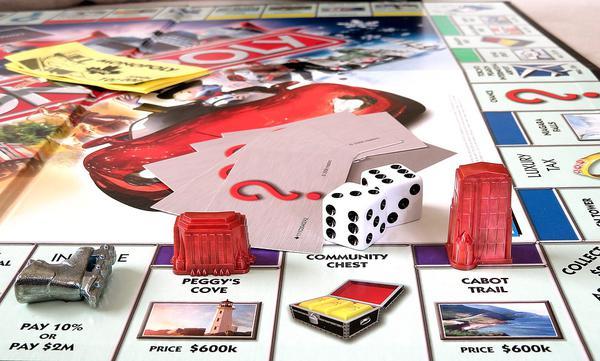 gry planszowe monopoly